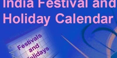 Holiday festivals india 2017